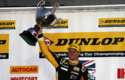 The end of the 2015 BTCC season and silverware for Josh Cook