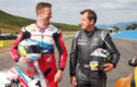 Gordon Shedden and John McGuinness go toe to toe at Knockhill!